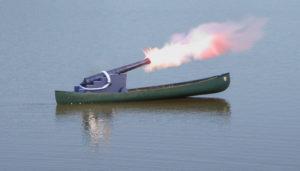 canoe-cannon